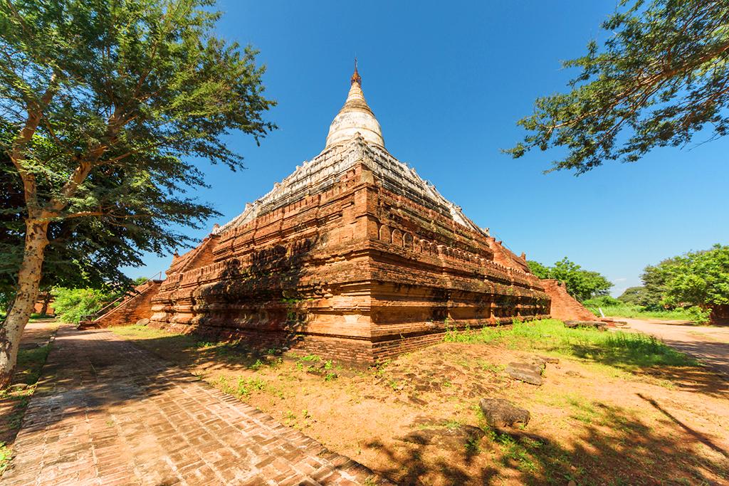 Храм Shwesandaw, Баган, Мьянма