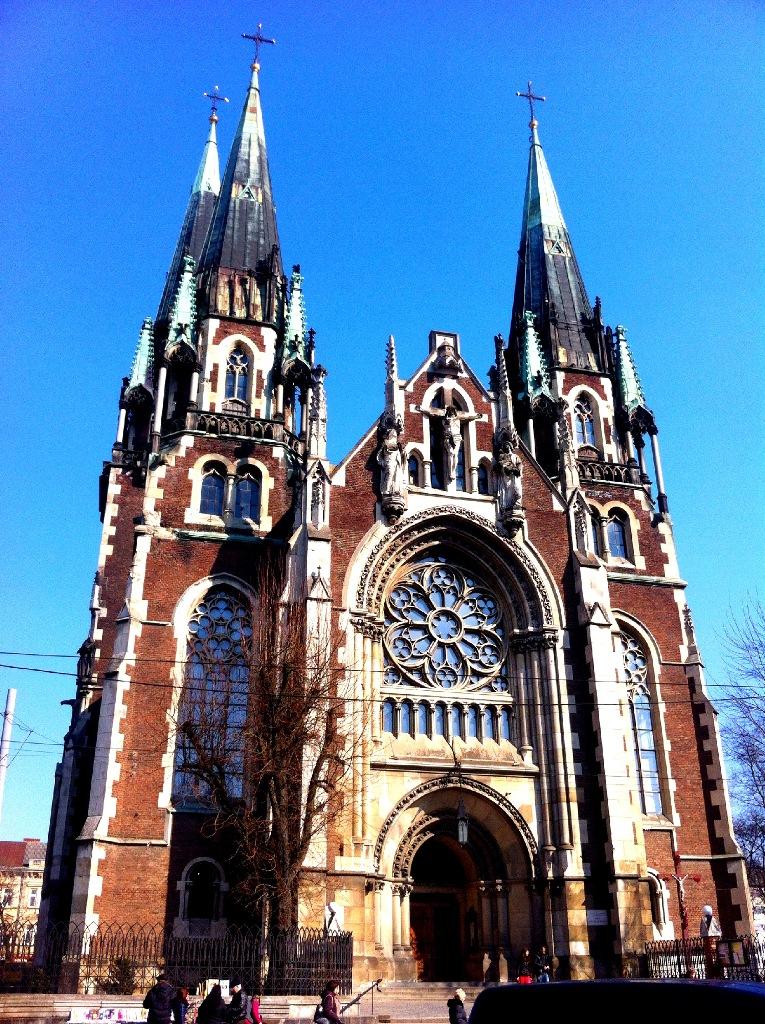 Собор Святой Ольги и Елизаветы во Львове