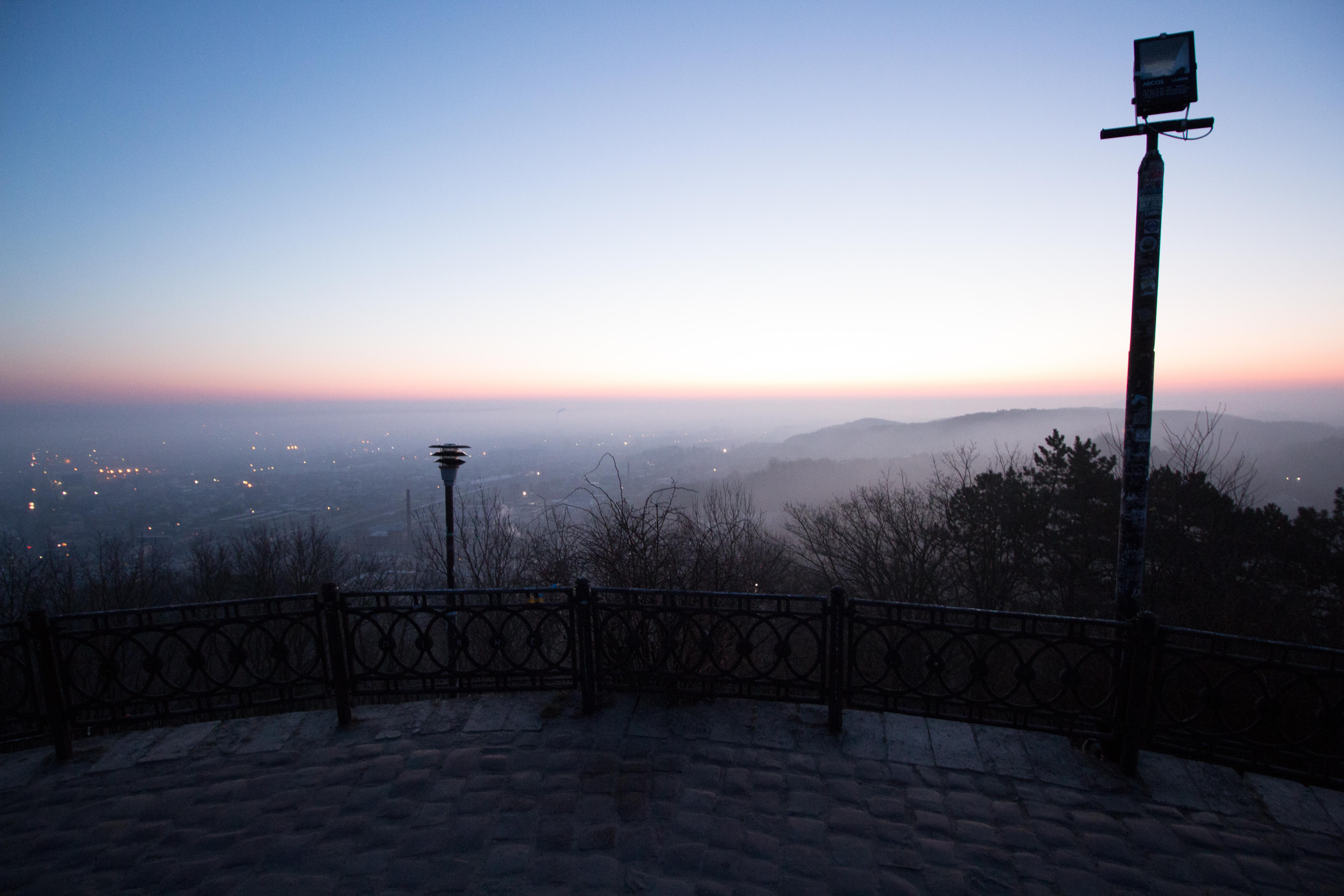 Парк Высокий замок во Львове