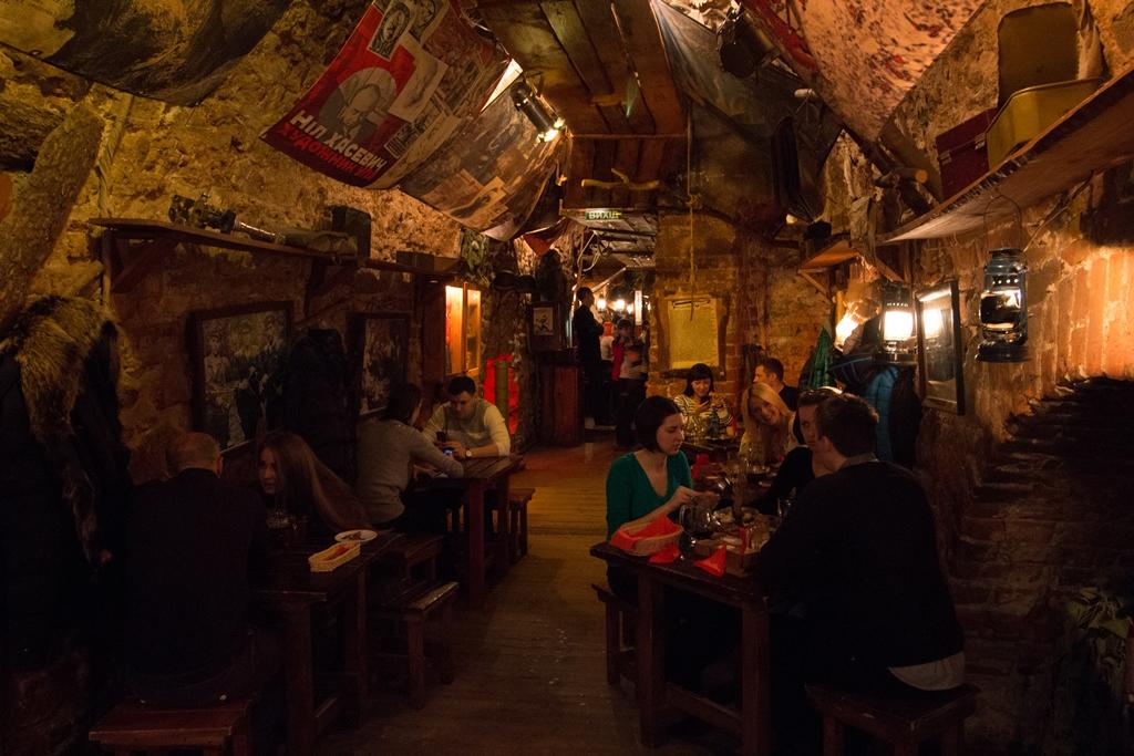 Ресторан Крыивка (Криївка), Львов