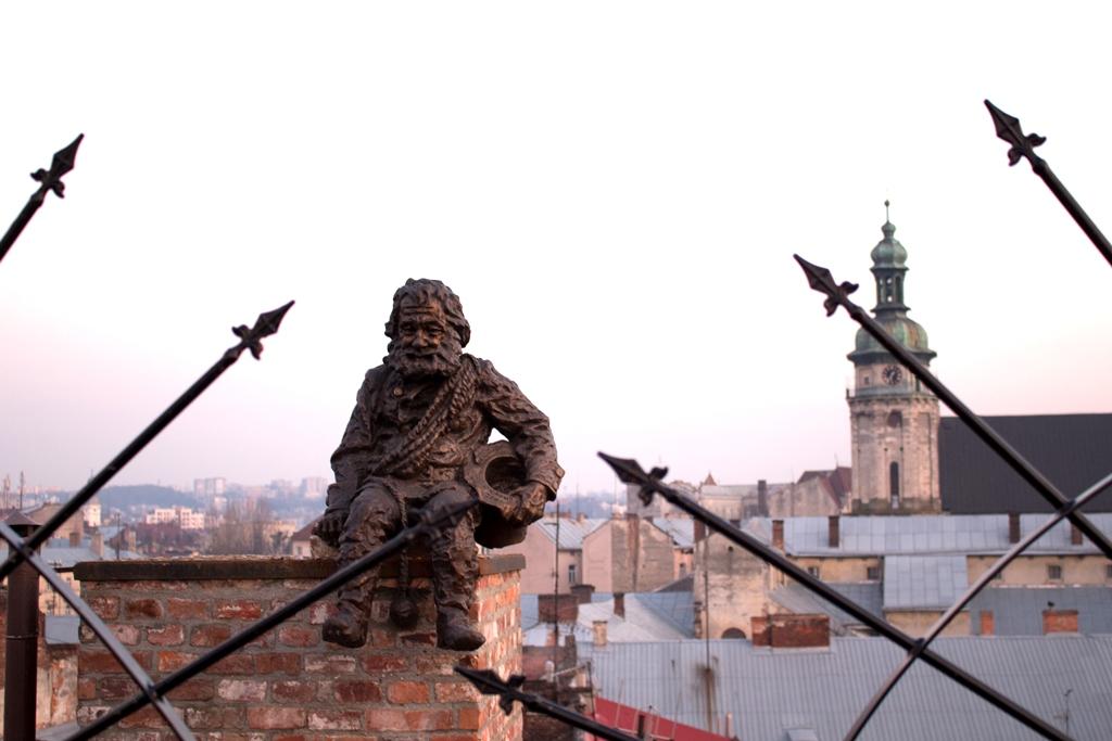 Крыша ресторана Дом легенд, Львов