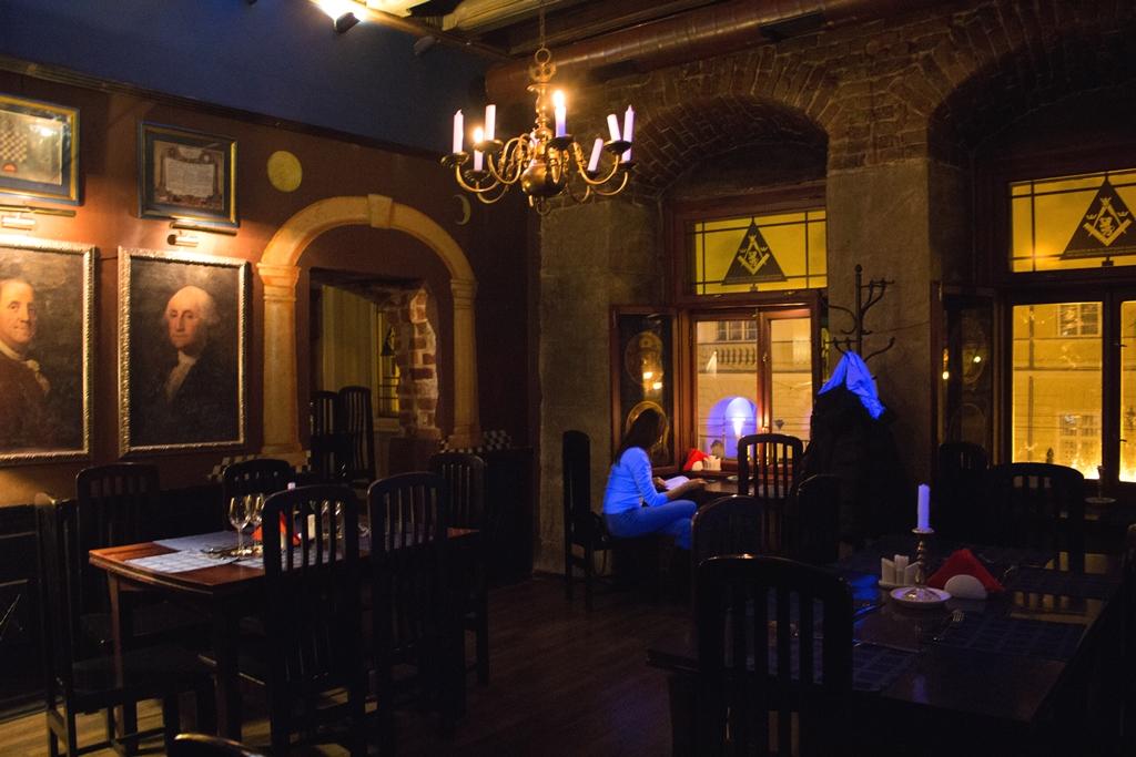 Ресторан Масонская ложа во Львове
