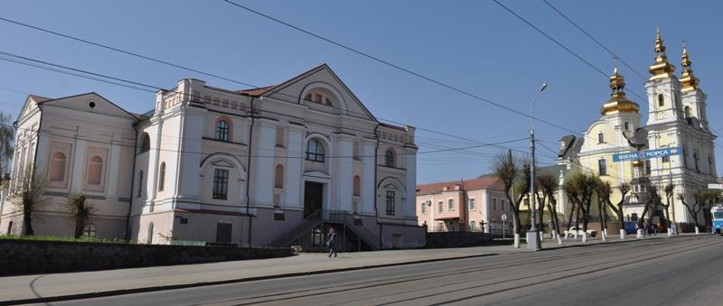 Иезуитский костел в Виннице