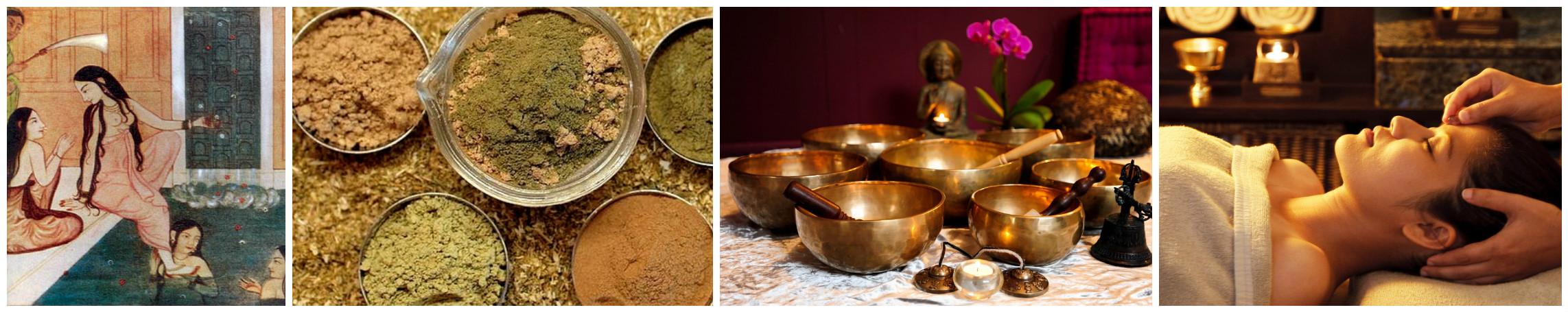 Принятие ванны и массаж перед Дивали