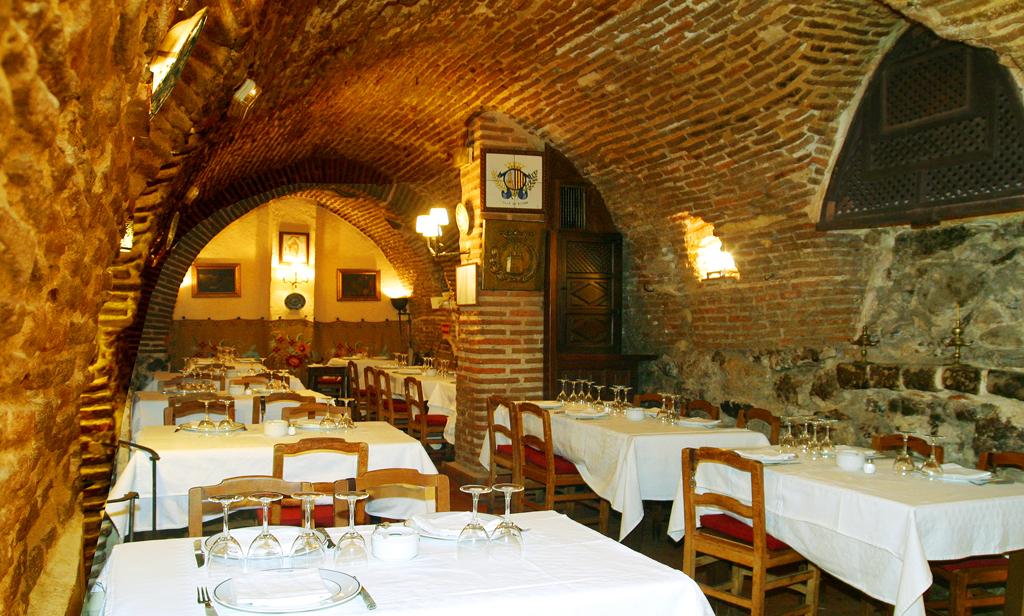 Интерьер ресторана Ботин, Мадрид, Испания