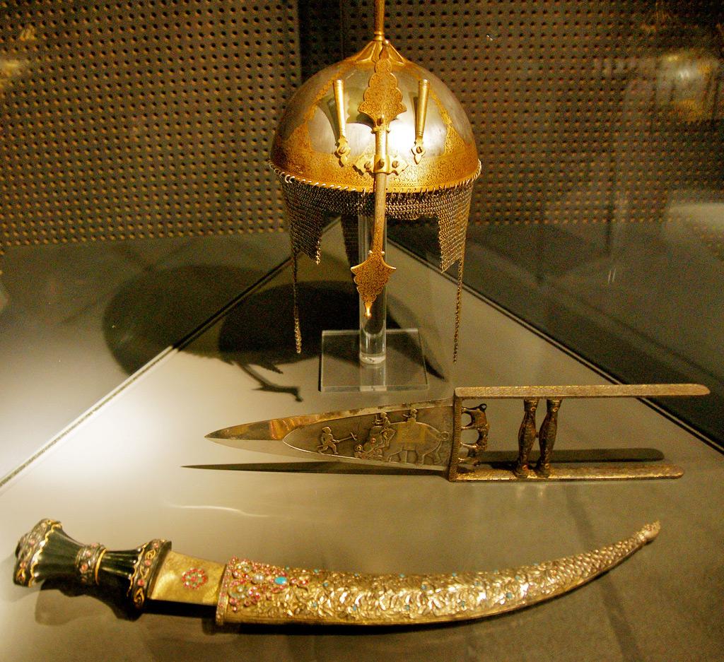 Экспонаты исторического Музея в Берне