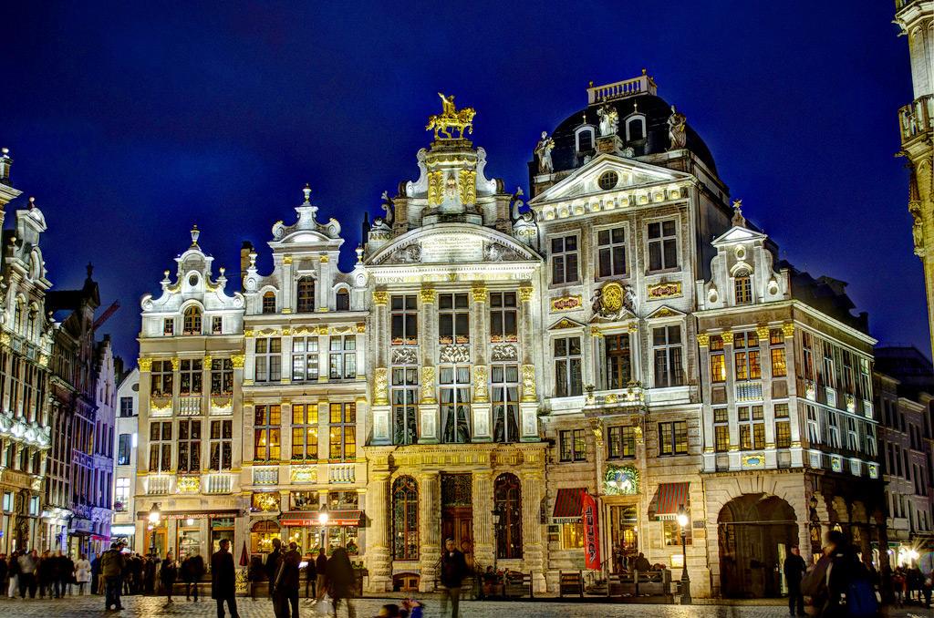 Исторический центр Брюсселя