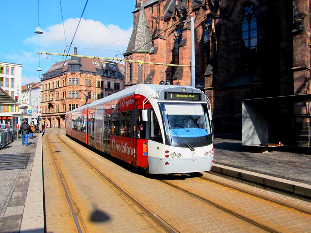 На трамвае из Саргемин (Франция) в Саарбрюккен (Германия)