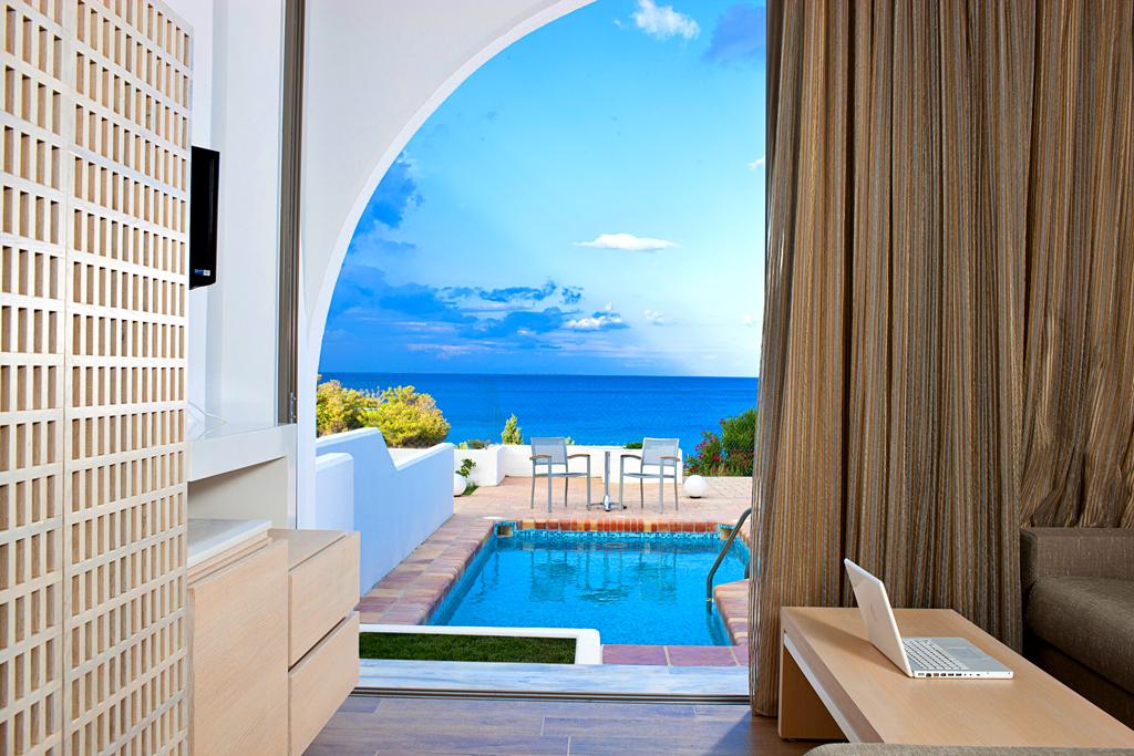 Junior suite с личным бассейном, отель Porto angeli на Родосе