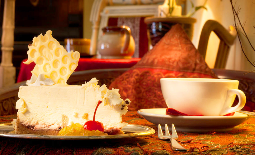 Кафе Chocolaterie de Pierre, десерт