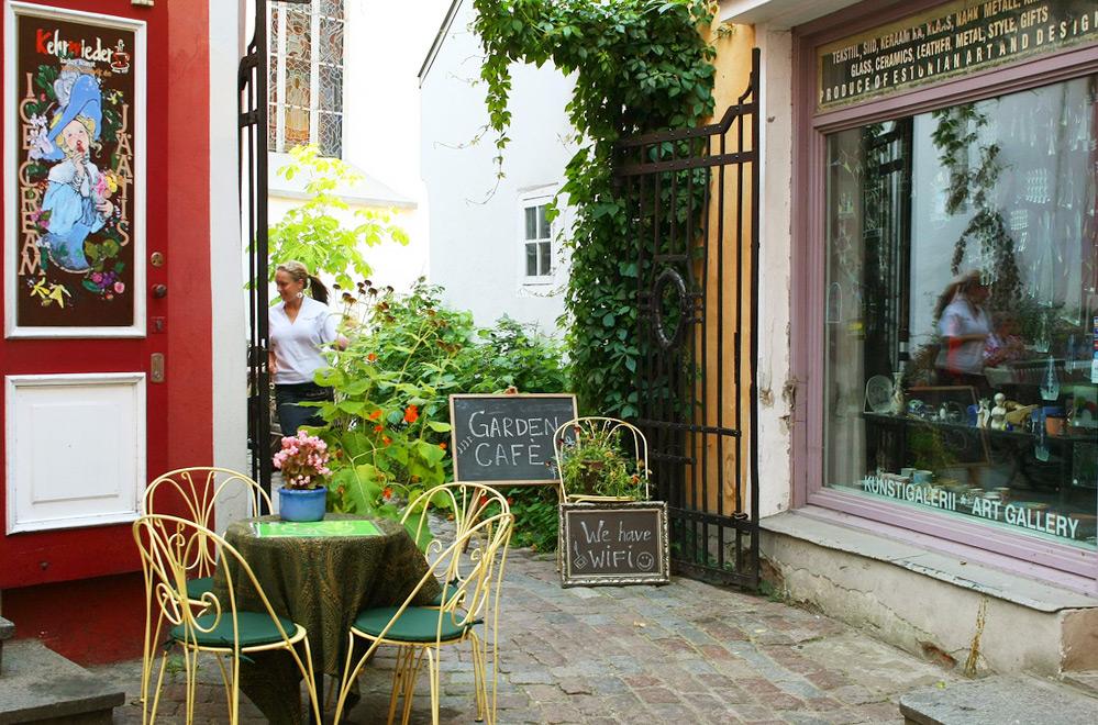 Кафе Kehrwieder, Таллин