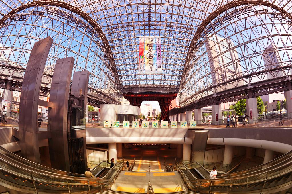 Вокзал Канадзава в Канадзаве