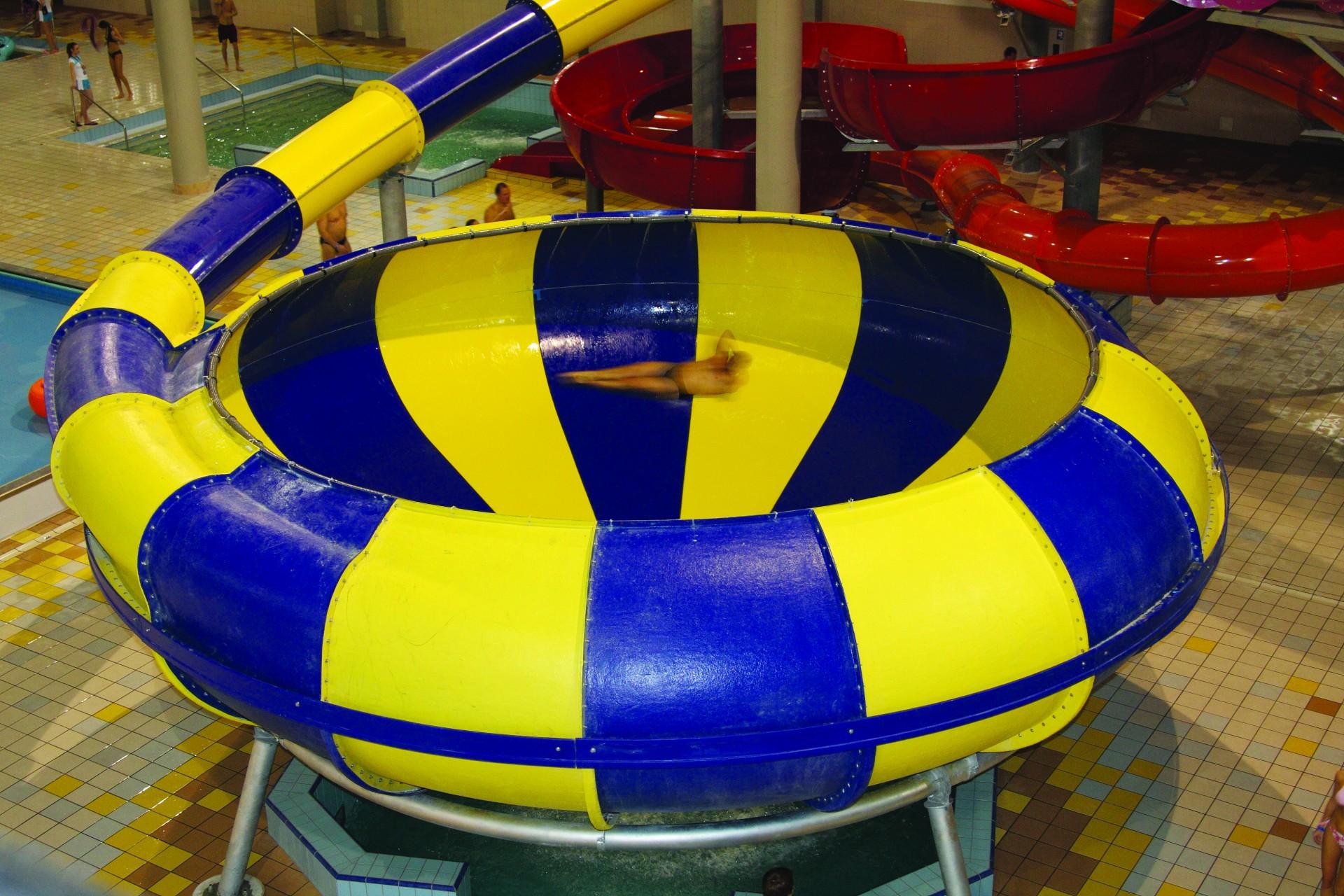 Космический водоворот в аквапарке Терминал, Бровары