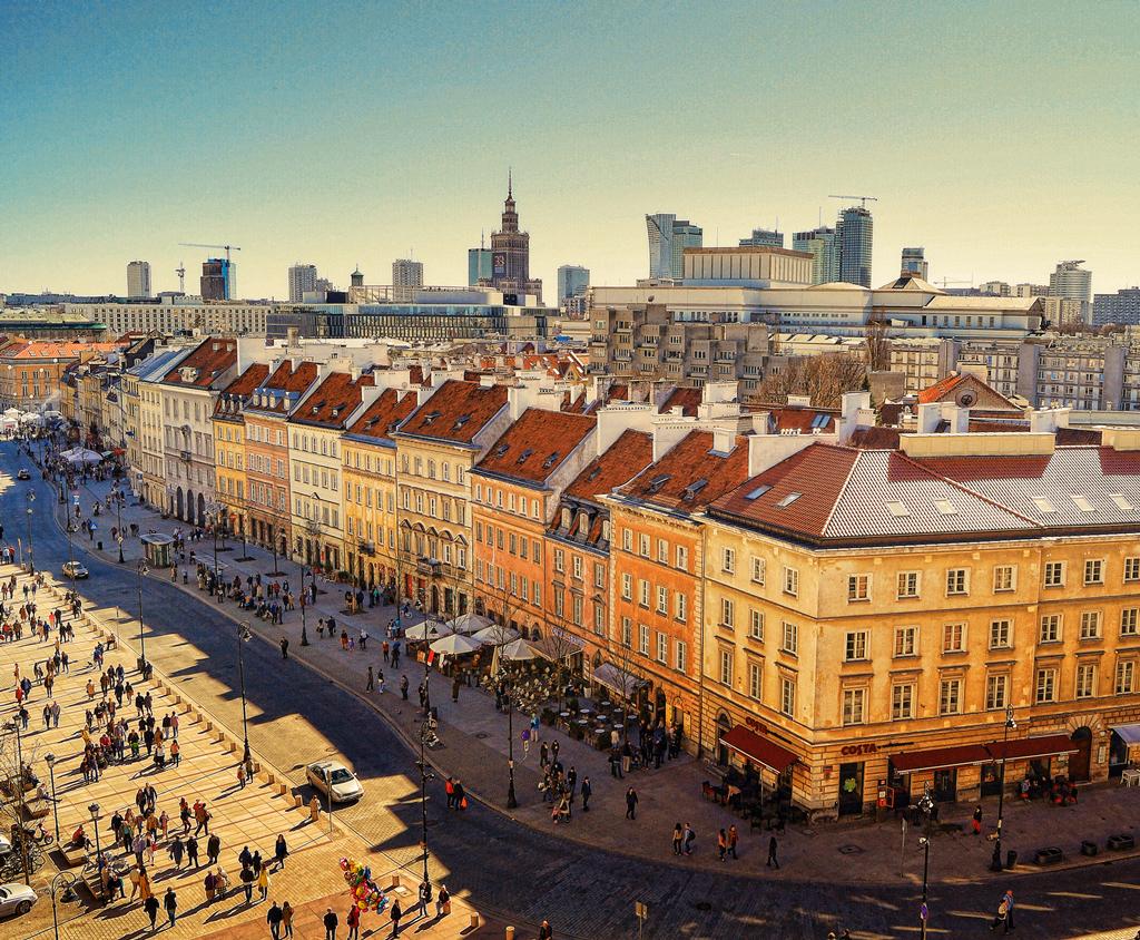 Улица Краковское предместье, Варшава, Польша