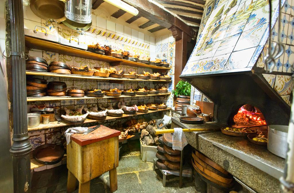 Кухня ресторана Ботин