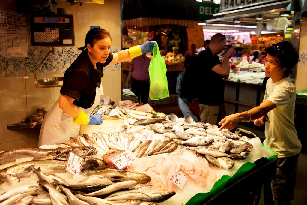 Рынок Бокерия (рынок Сан-Жузеп) в Барселоне
