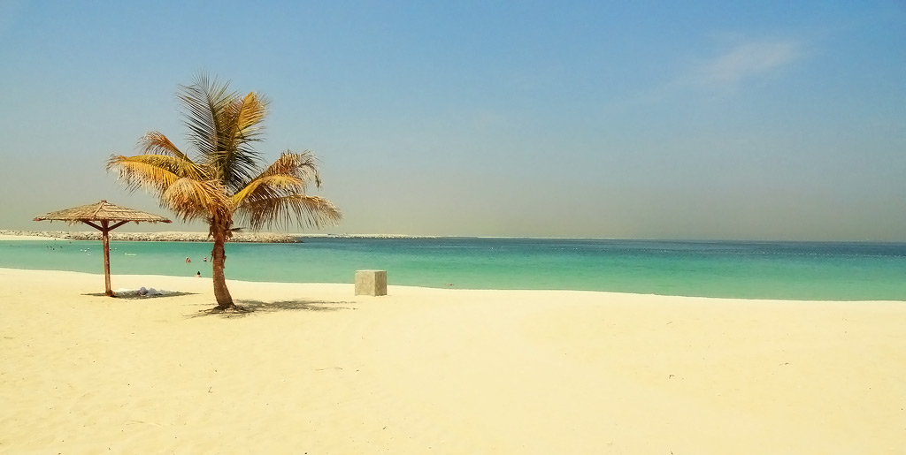 Лагуна и пляж Аль-Мамзар