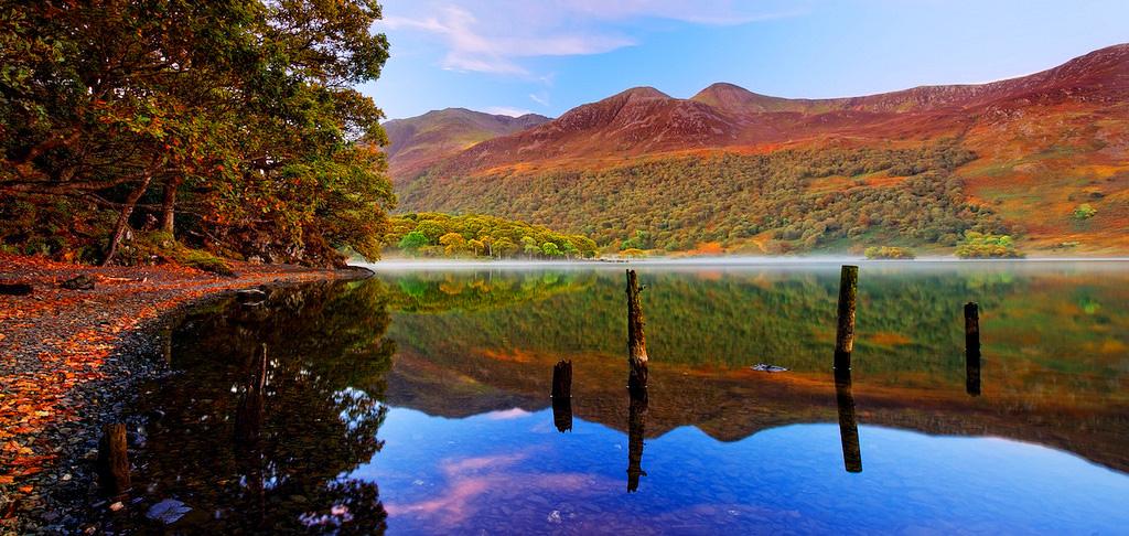 Осень в Озёрном краю, Великобритания