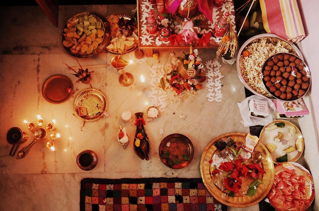 Лакшми Пуджа на Дивали