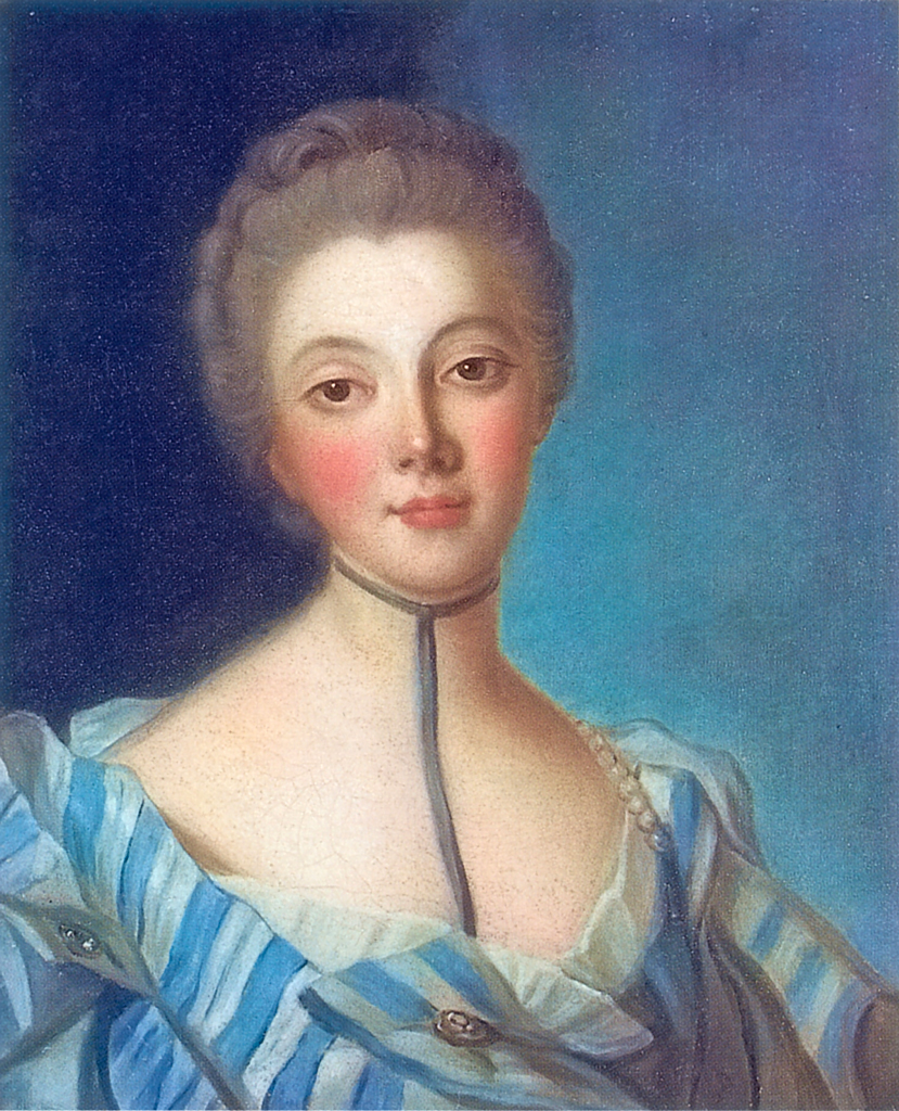 Портрет Луизы Дюпен