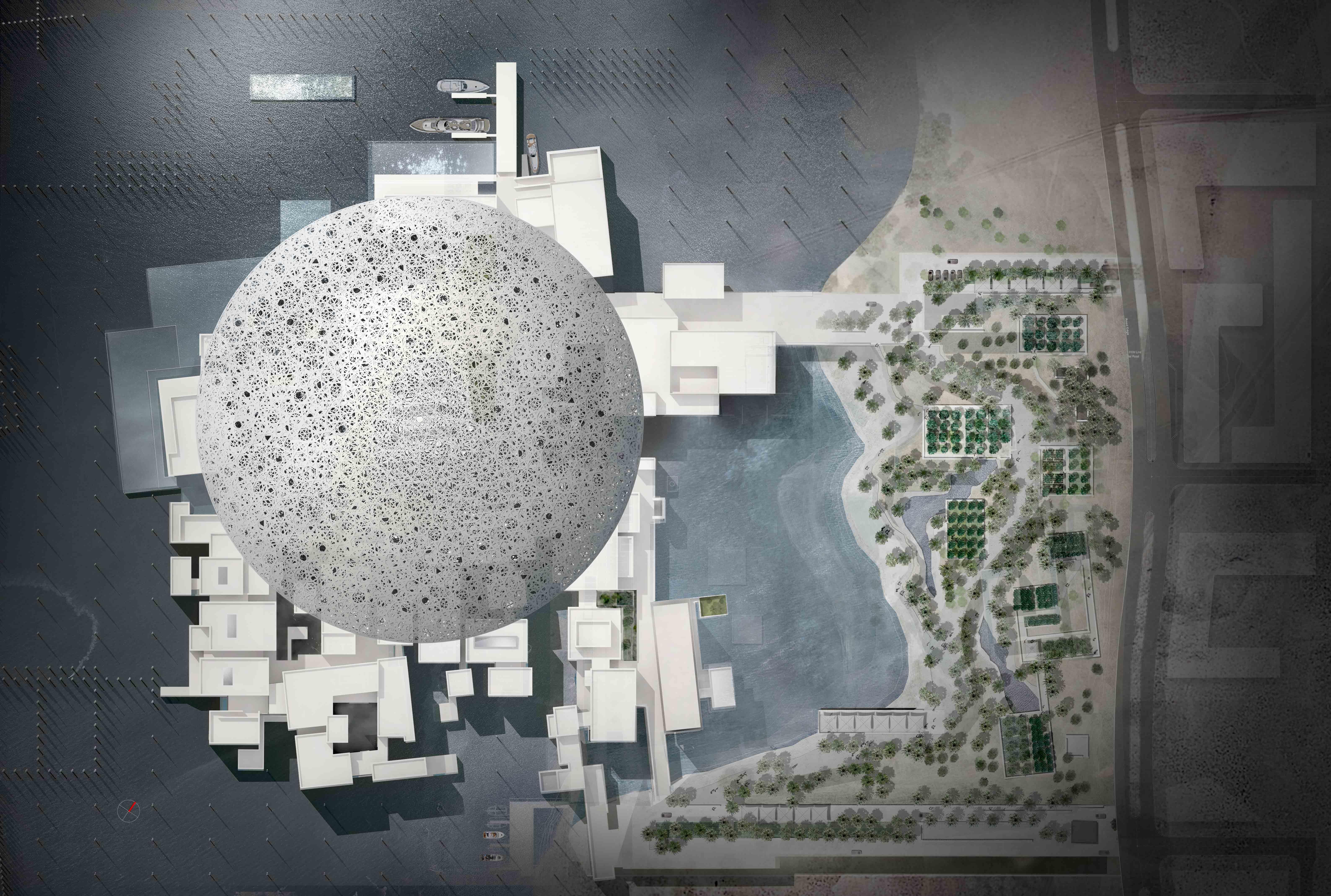 Проект музея Лувр Абу-Даби
