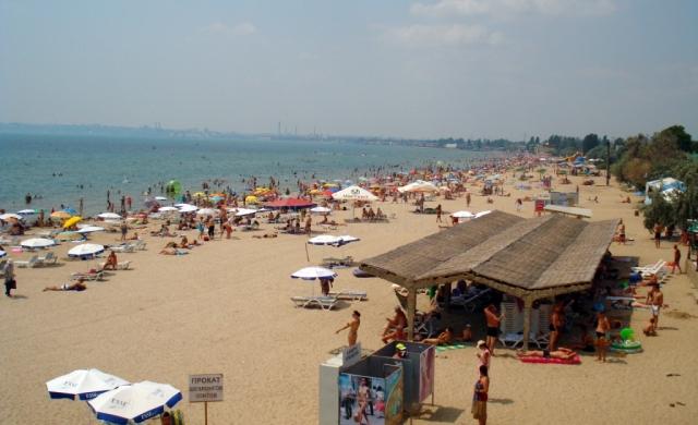 Пляж Лузановка в Одессе