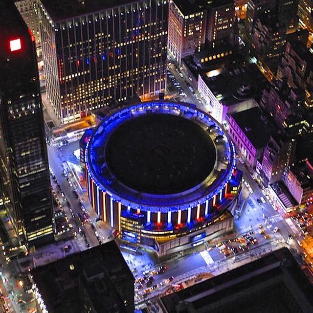 Спортивный комплекс Madison Square Garden в Нью-Йорке