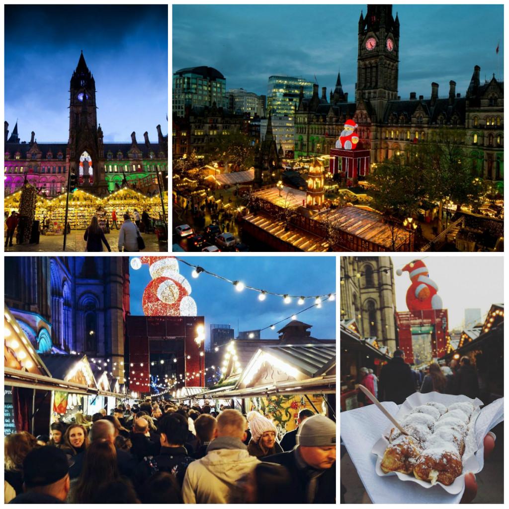 Рождественские ярмарки в Манчестере