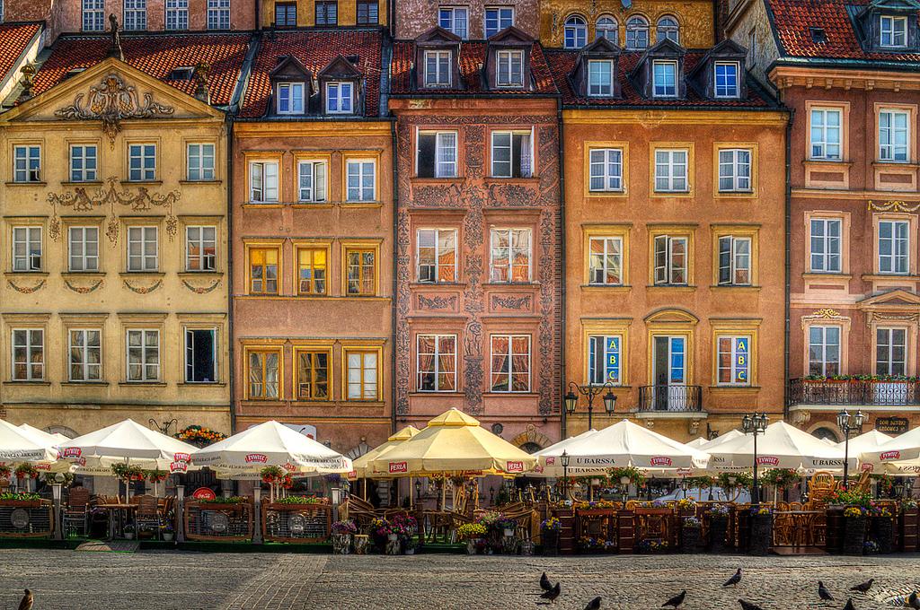 Рыночная площадь Старого города Варшавы