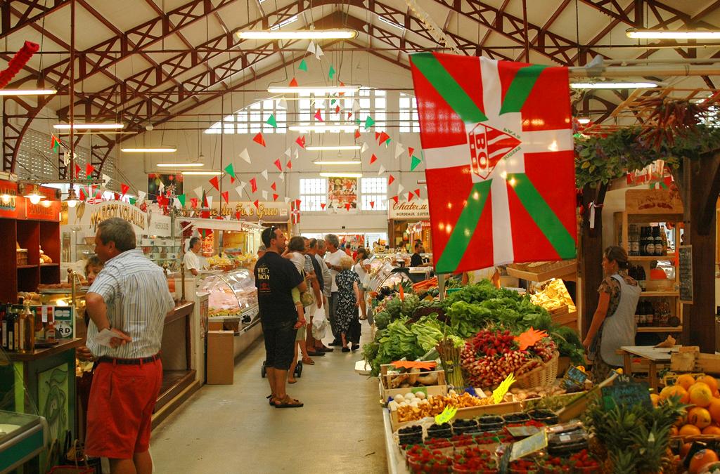 Фермерский рынок в Биаррице
