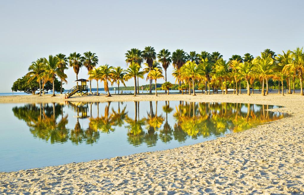 Matheson Hammock Park Beach, Майами-Бич