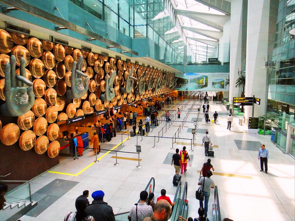 Международный аэропорт Нью-Дели имени Индиры Ганди, Индия