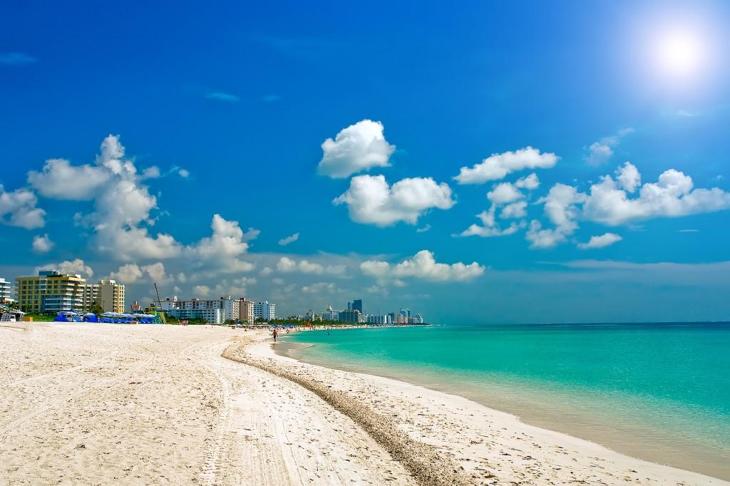 Пляж Майами Бич