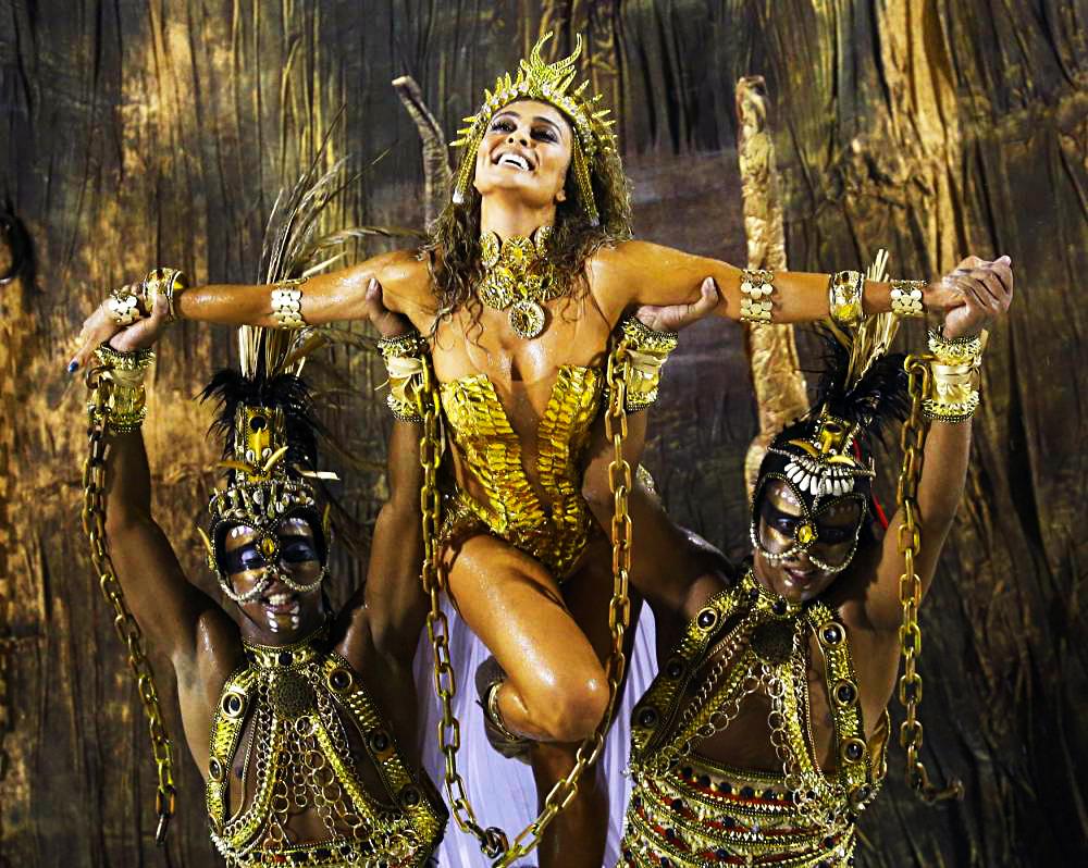 Бразильский карнавал в Рио 2015