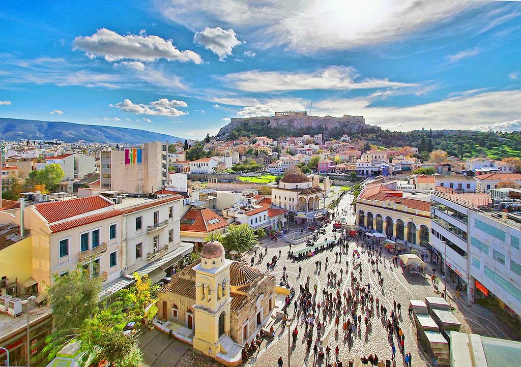 Монастираки, Афины