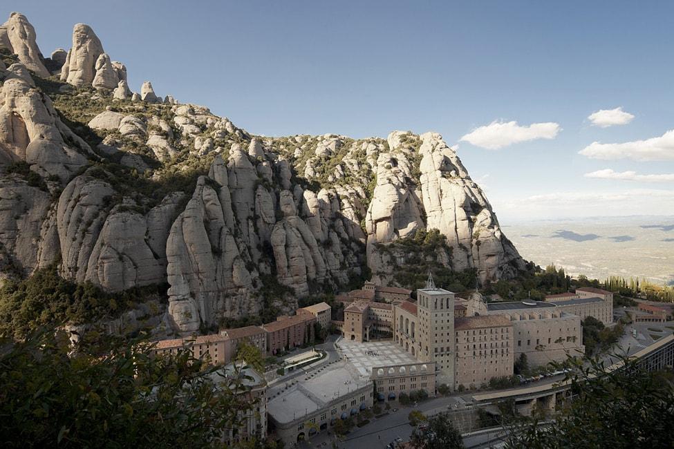 Монастырь на горе Монесеррат