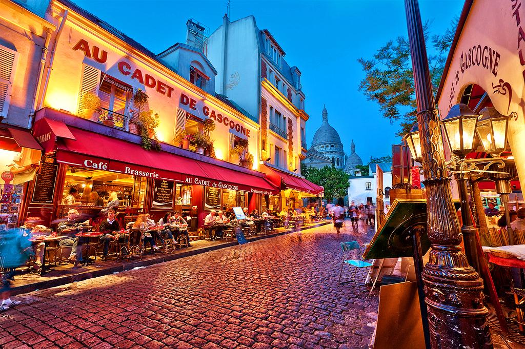 Монмартр, Париж, Франция