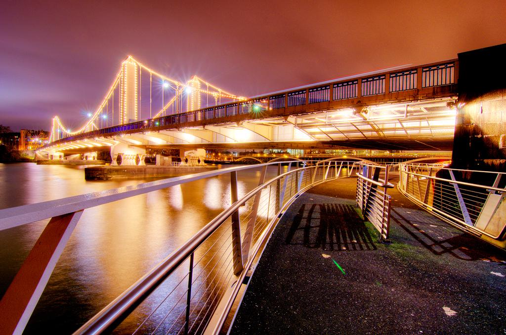 Мост Челси, Лондон
