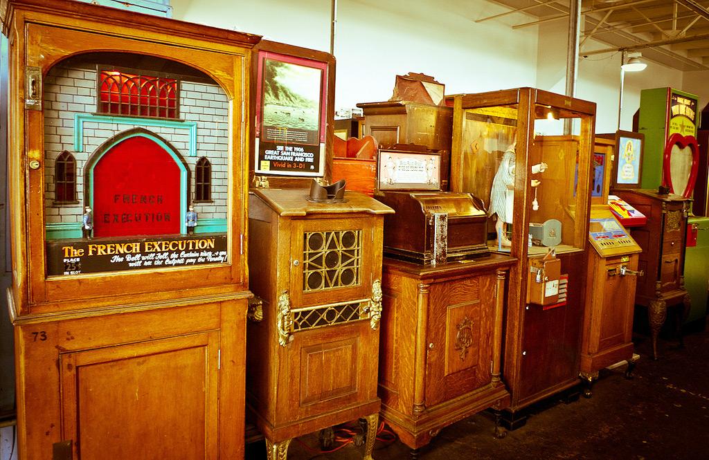 Musèe Mècanique – музей механики, Сан-Франциско