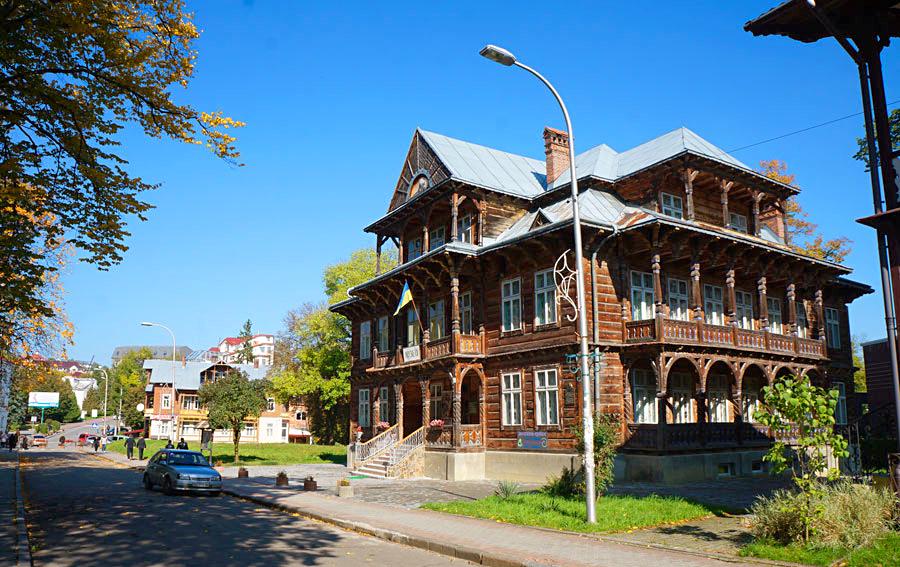 Художественный музей Михаила Биласа, Трускавец