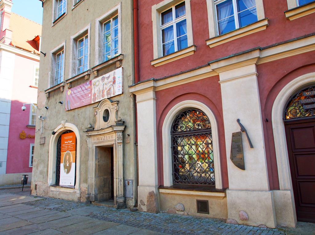 Музей народных инструментов в Познани, вход