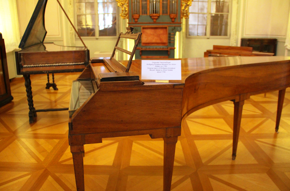 Музыкальный инструмент Моцарта