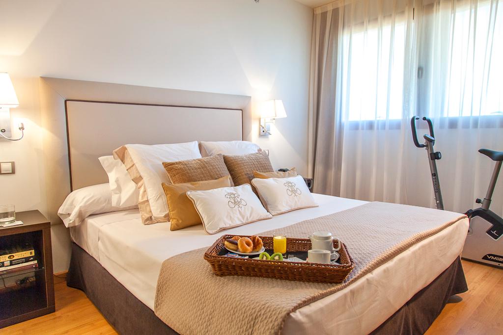 Номер в гостинице NH Las Tablas Madrid