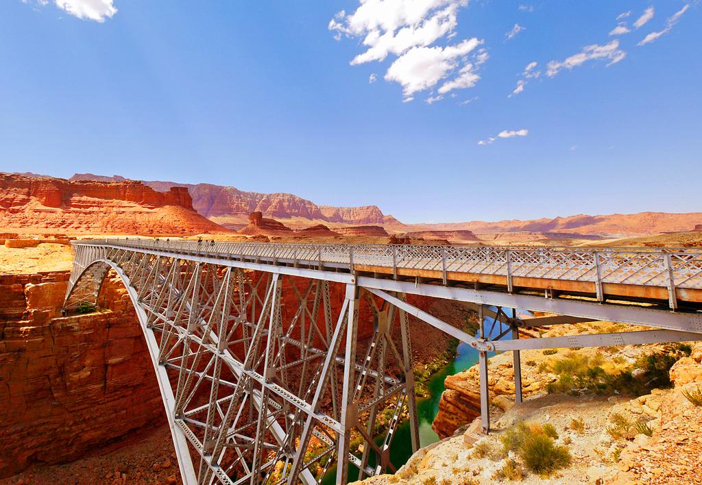 Мост Навахо, Аризона, США