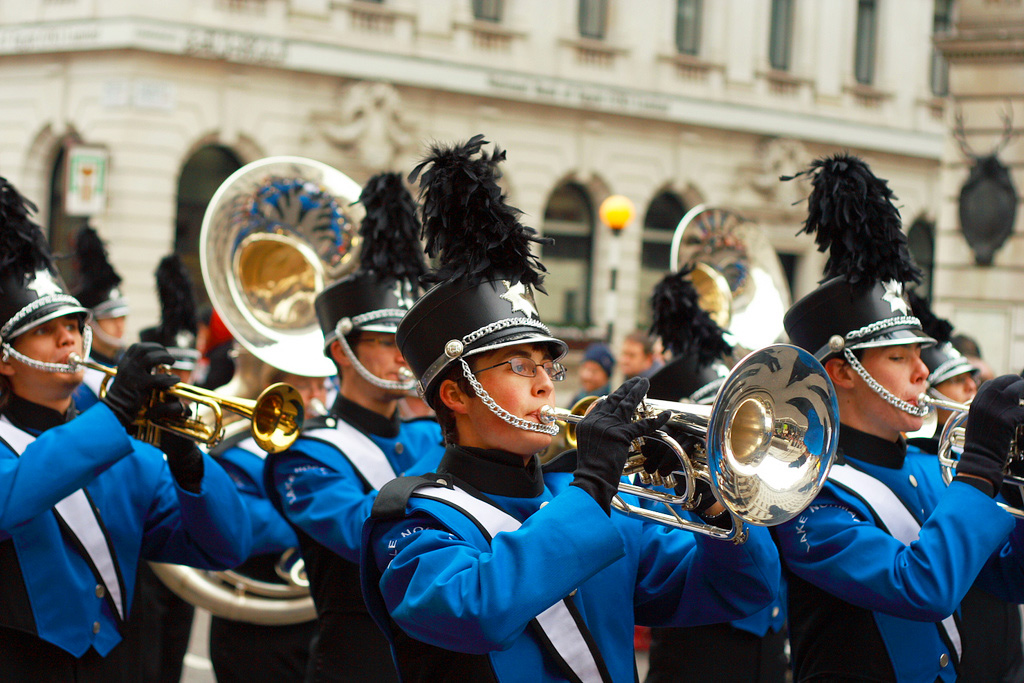 Новогодний парад, Лондон