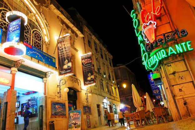 Ночная жизнь Лиссабона