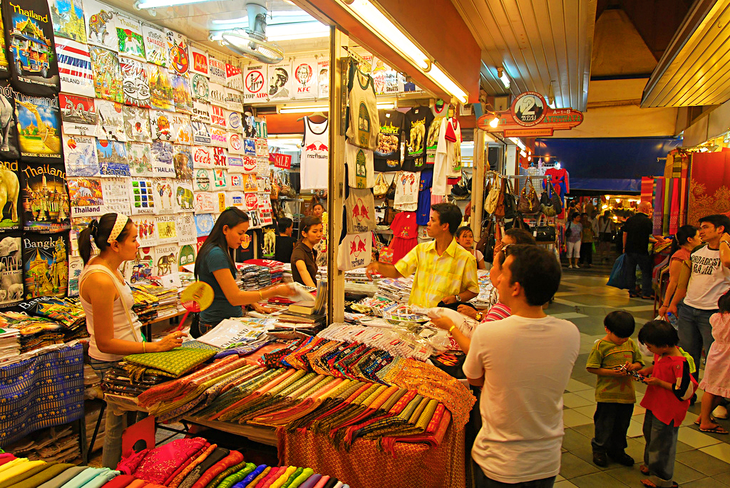 Ночной базар, Таиланд