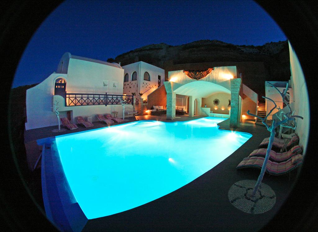 Ночной вид, Astarte Suites Hotel, Греция