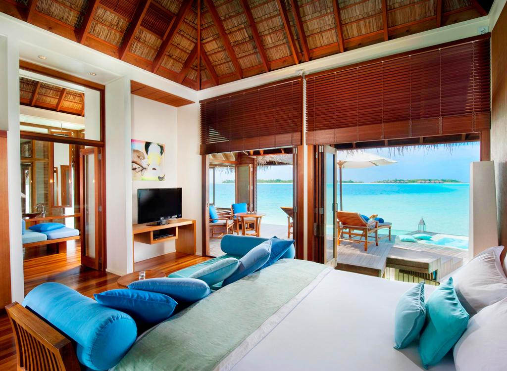 Номер в Conrad Maldives, остров Рангали, Мальдивы