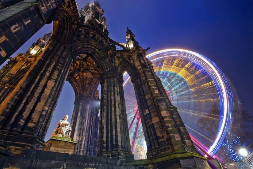 Новый год 2016 в Эдинбурге